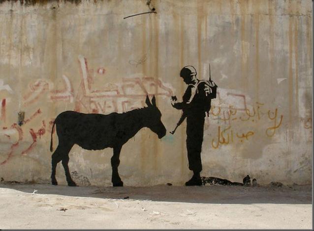 banksy_donkey
