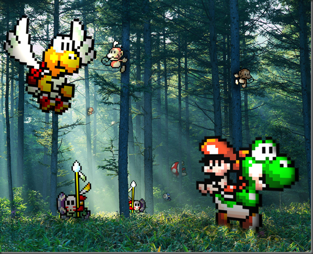 Retro_Forest___Yoshi__s_Isl____by_RETROnoob