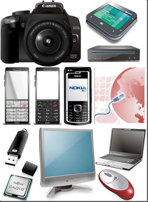 vector-electronic-devices