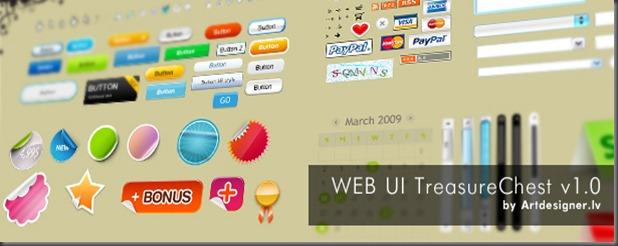 WEB_UI_Treasure