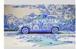 Volvo art session - live graffiti art performance in Zurich
