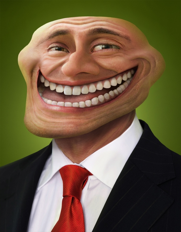 REAL TROLLFACE | PHOTO MANIPULATION